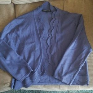 Womans 3/4 length Bolero style sweater - size XL